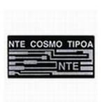 NTE コスモチップ (OA) ◆サイズ :25mm×50mm×2.5mm◆カラー:ブラックorシルバー◆数量:1個